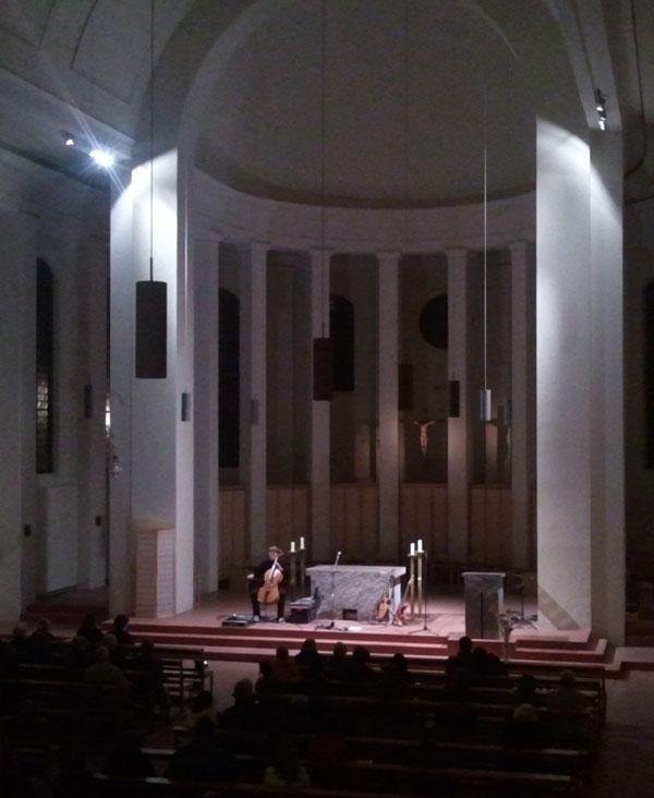 Altar und Ambo, 2013<br />Kleiner Michel, Hamburg; Granit